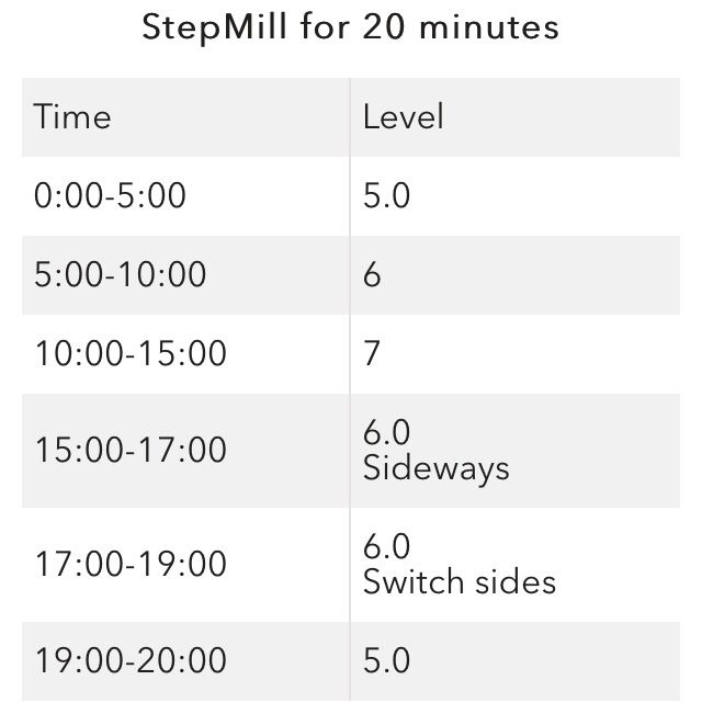 Stair stepper workout #cardio