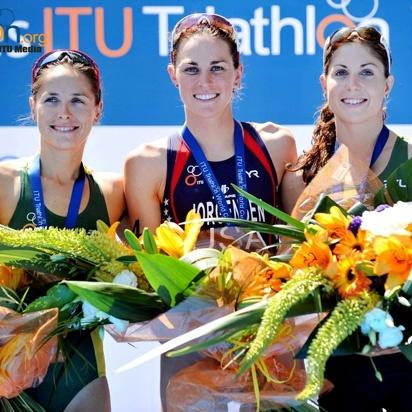 Erin Densham claims second place at ITU Triathlon World Cup