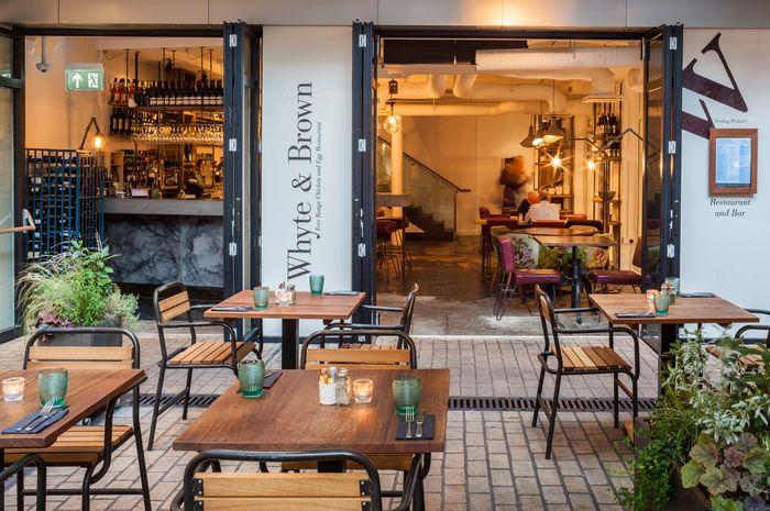 Whyte & Brown (London), Standalone restaurant | Restaurant & Bar Design Awards