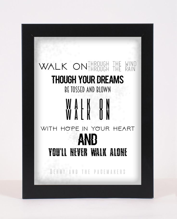 Lyric lyrics you ll never walk alone : Best 25+ Gerry and the pacemakers ideas on Pinterest | Dont let ...