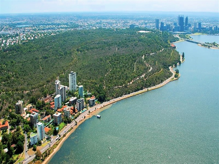 Swan River, Kings Park & Crawley, Perth, Western Australia