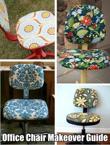 How To Reupholster An Old Office Chair