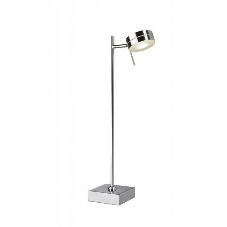 Sompex LED Tischleuchte Totti Led Tischlampe Chrom