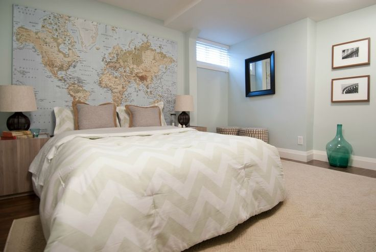 Large basement bedroom, Income Property HGTV
