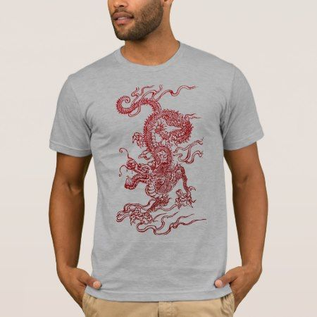 Chinese Dragon T-Shirt - click/tap to personalize and buy