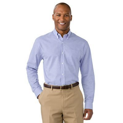 Cutter & Buck Epic Easy-Care Tattersall Shirt - TravelSmith