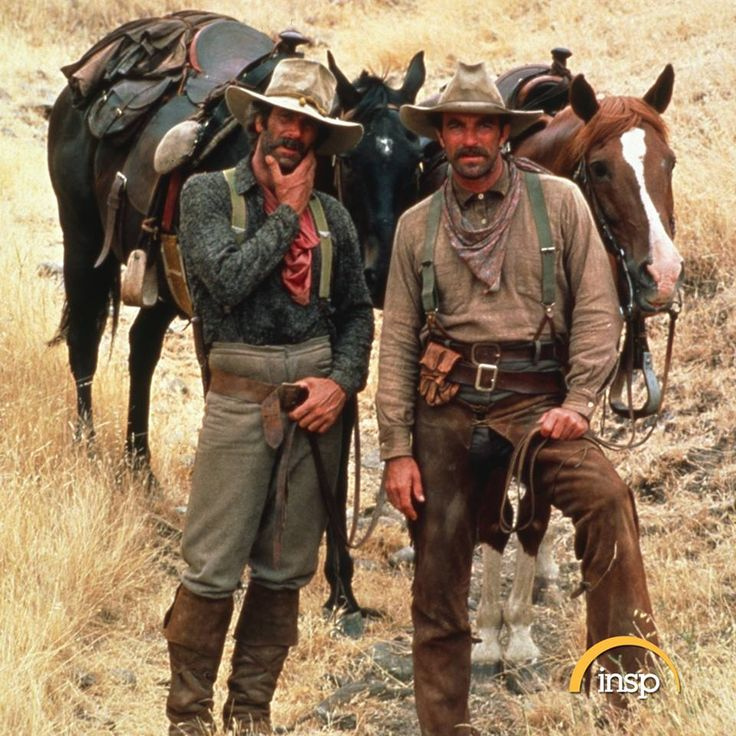 Tom Selleck and Sam Elliott star in the INSP Premiere of The Shadow Riders at 6 ET.