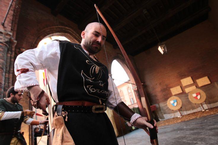 Palio del Torrone...gara di tiro con l'arco!