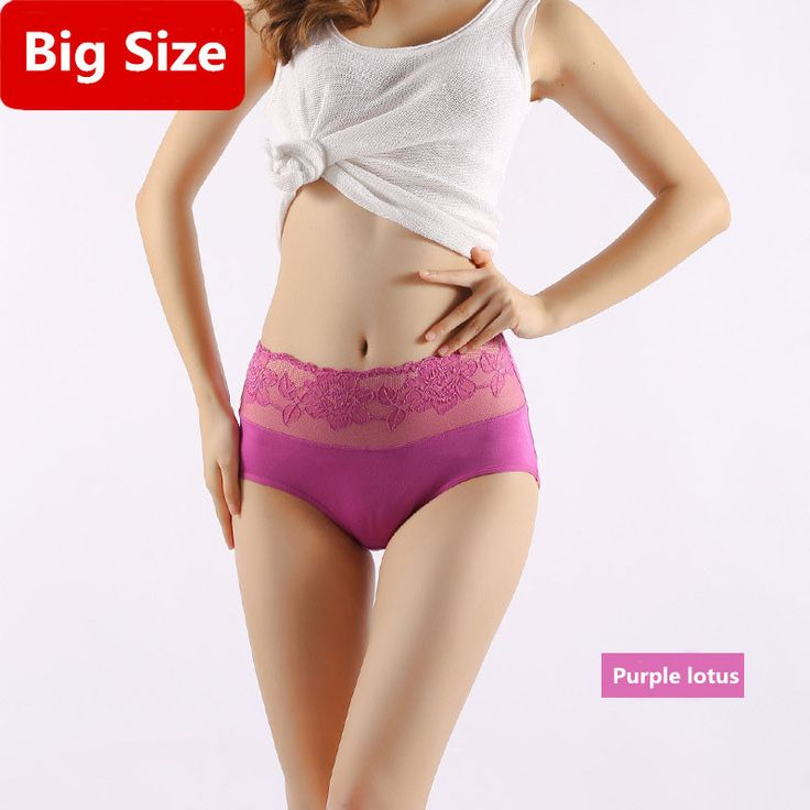 Big Size Underwear Women Briefs Lace Printing M-3XL Breathable Middle Waist Rose Lingerie For Women Plus Size Panties Ladies