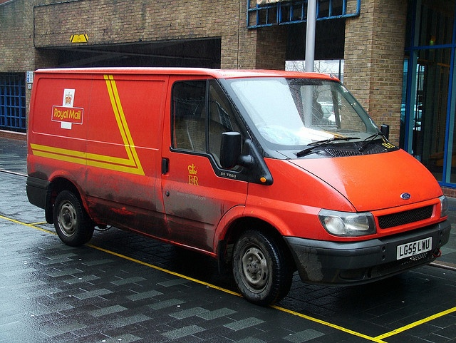 Transit Royal Mail Van by kenjonbro, via Flickr