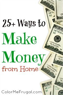 Looking for ways to make some extra money- without leaving your house? Check out these 25 easy ways to make money from home!