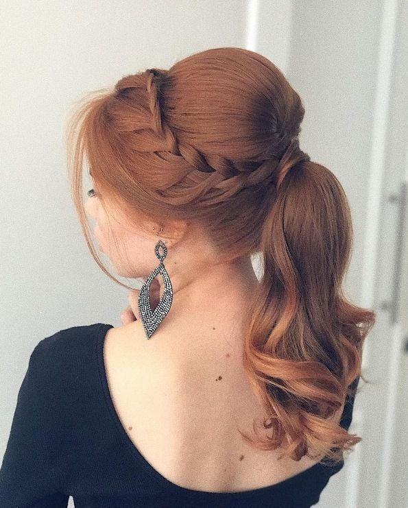 penteado de festa rabo de cavalo ponytail