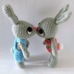 игрушки амигуруми крючком схема зайчика