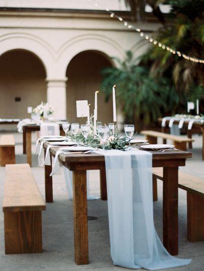Pretty table: http://www.stylemepretty.com/2015/04/04/seaside-wedding-at-sunset-cliffs/ | Photography: Carmen Santorelli - http://carmensantorellistudio.com/