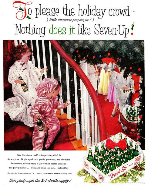 """""""Little Staircase Peepers""""    """"Life"""" magazine  December 17, 1956 I remember doing this as a kid!"""