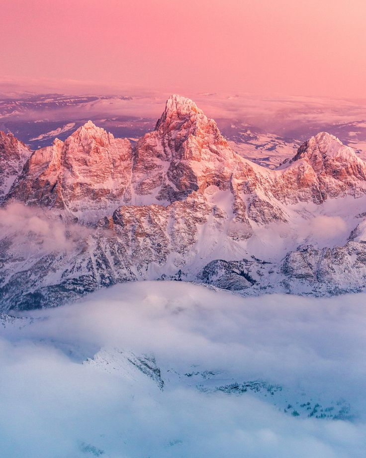 Grand Teton National Park in Northwestern Wyoming | 16 Beautiful Aerial Pictures Of The American West