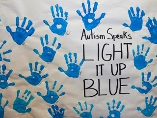 April 2nd is World Autism Awareness Day.  Iconic buildings, landmarks and schools across the world will Light It Up Blue in honor of the day. Spread the word.