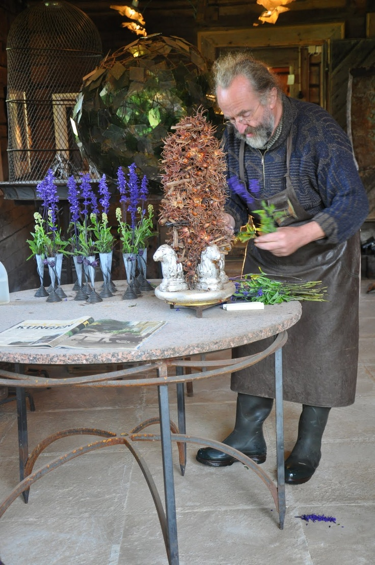 Tage Andersen - master florist