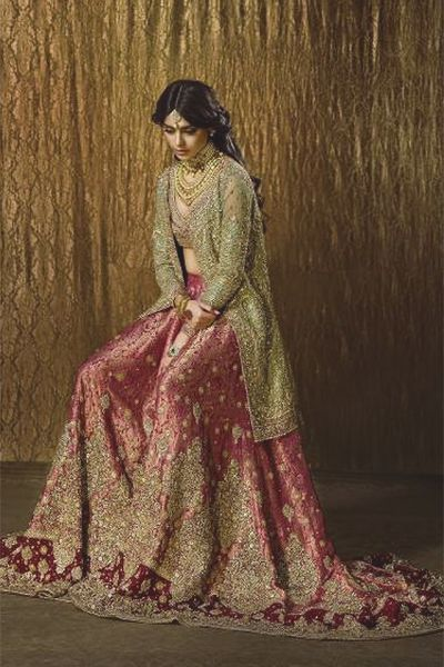 Designer: Faraz Manan Photography/Hair/Makeup: Ather Shahzad Jewelry: Neemar Model: Sadaf Kanwal (Desi Bridal Shaadi Indian Pakistani Wedding)