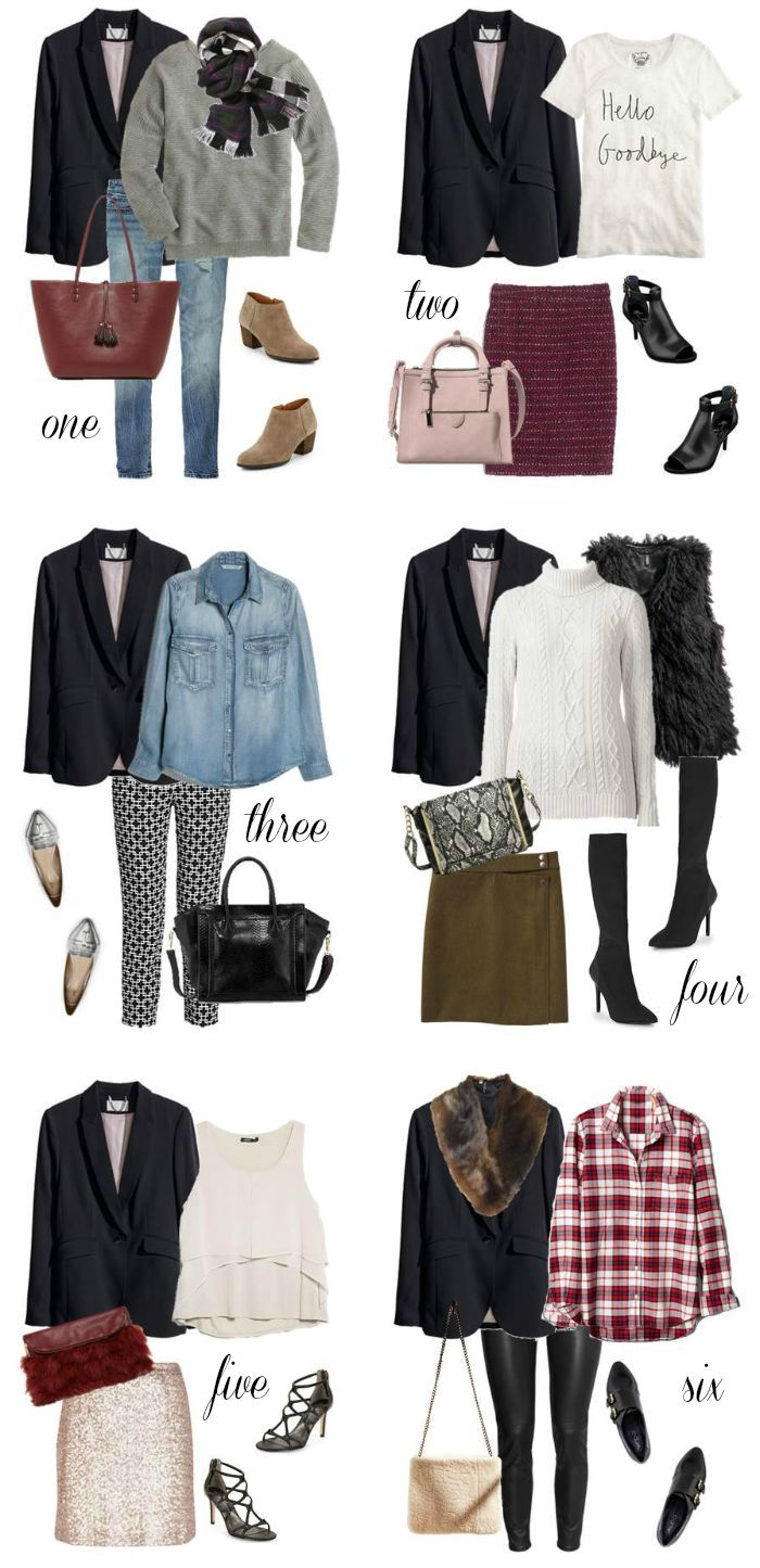 6 Ways to Wear: Black Blazer