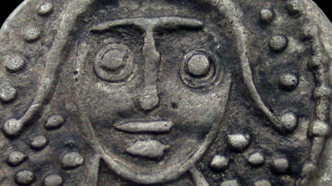 Anglo Saxon Sceatta found at Lottle Carlton, Lincolnshire