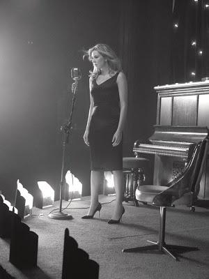Diana Krall. Op Gent Jazz deze week was ze ook weer real divine