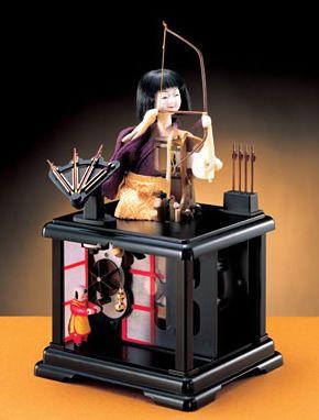 江戸のからくり人形・弓曳童子