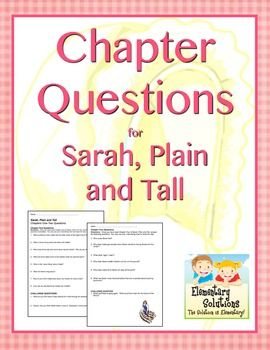Common Core-Aligned Chapter Questions for use with reading Sarah, Plain and Tall by Patricia MacLachlan. $: Common Cores Align, Sarah Plain And Tall, Reading, Cores Align Chapter, Chapter Questions, Studies Chapt Books, Books Studies Chapt, Charts Common Cores, Literature Circle Lit