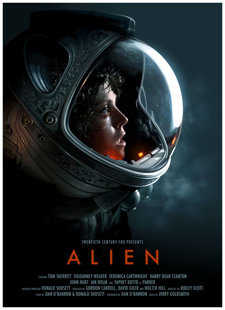 Alien poster by Brian Taylor aka Candy Killer