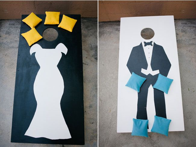Love this custom corn hole game! | Love and Lavender