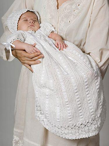 Ravelry: Heirloom Baby Set - Dress pattern by Michele Maks