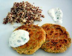 Vaniglia, Zenzero e Cannella: Burger di fagioli cannellini con salsa di yogurt al cumino e quinoa