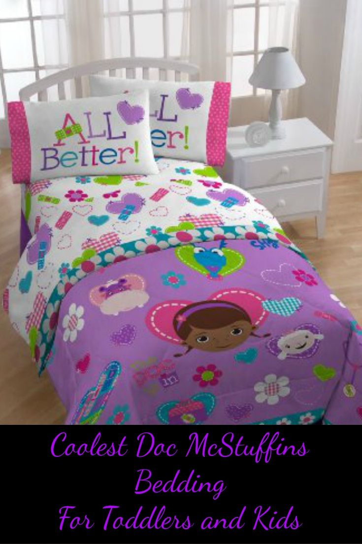 Doc McStuffins Bedding Set Toddlers and Kids LOVE in their room