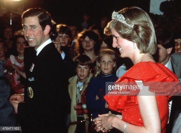 News Photo : Prince Charles, Prince of Wales and Princess...