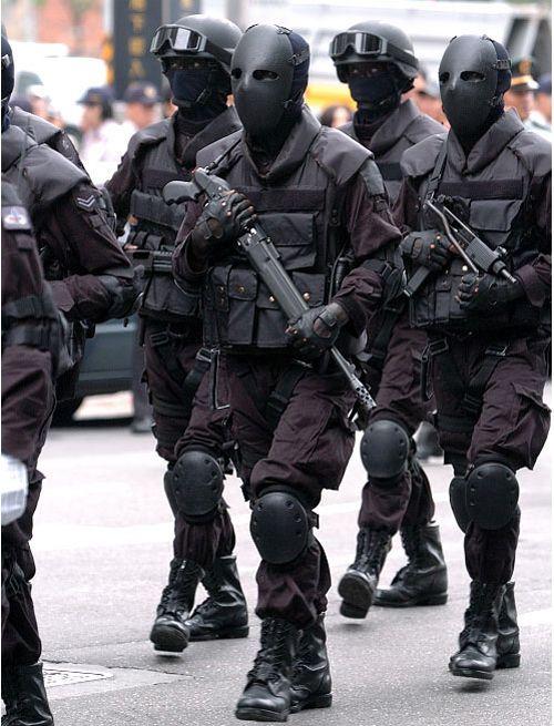 まるでホラー「台湾の特殊部隊」のいかつさは異常   DDN JAPAN