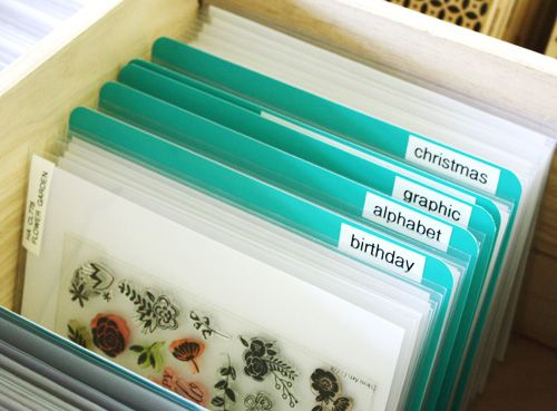 Kelly Rasmussen Clear Stamp Storage 2