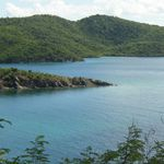 Virgin Islands National Park.  Hurricane Hole in the Coral Reef National Monument features mangroves and other submerged land features.
