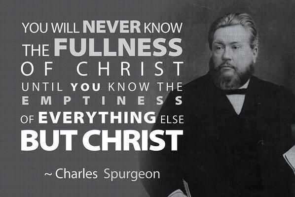 Charles Spurgeon quote~