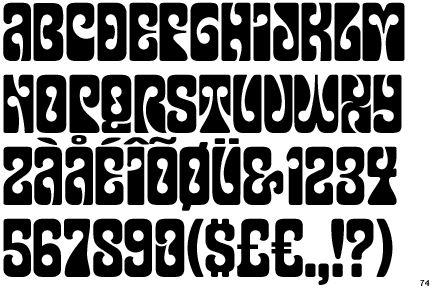 psychedelic typography - Buscar con Google