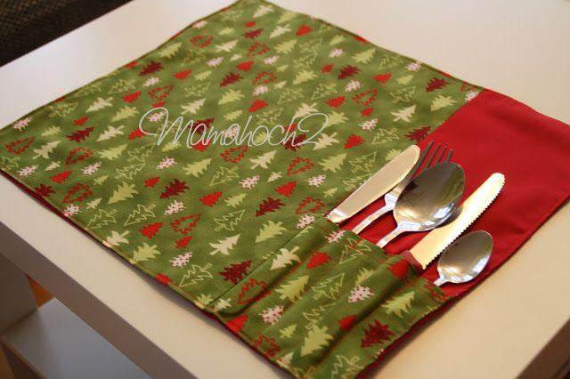 Ahhhhhhhhh, hab ich doch gestern glatt vergessen euch mein ersten weihnachtliches Nähtutorial zu zeigen. So dann eben jetzt! Ein Platzdeckchenset mit Besteckfächern für den leckeren Weihnachtsschmaus Ich mag es ja unheimlich gern auch über die gesamte Weihnachtszeit den Tisch immer schön zu schmücken. Deshalb habe ich mir für dieses Jahr und dann auch für die …