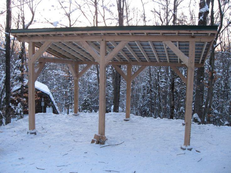 Timber Frame Carport Plans Timber Frame Post And Beam