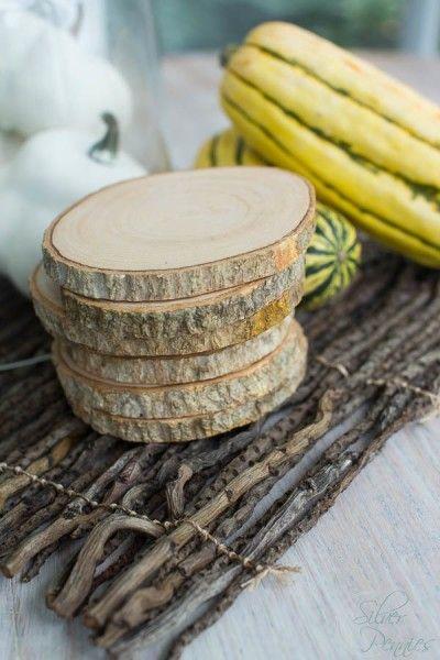 Wood Slice Coasters