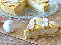 Crostata con crema pasticcera e ricotta una pasta frolla friabile con una crema morbida e golosa danno vita ad un dolce davvero gustoso