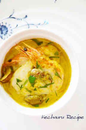 海老とホタテのグラタン サフラン風味の画像