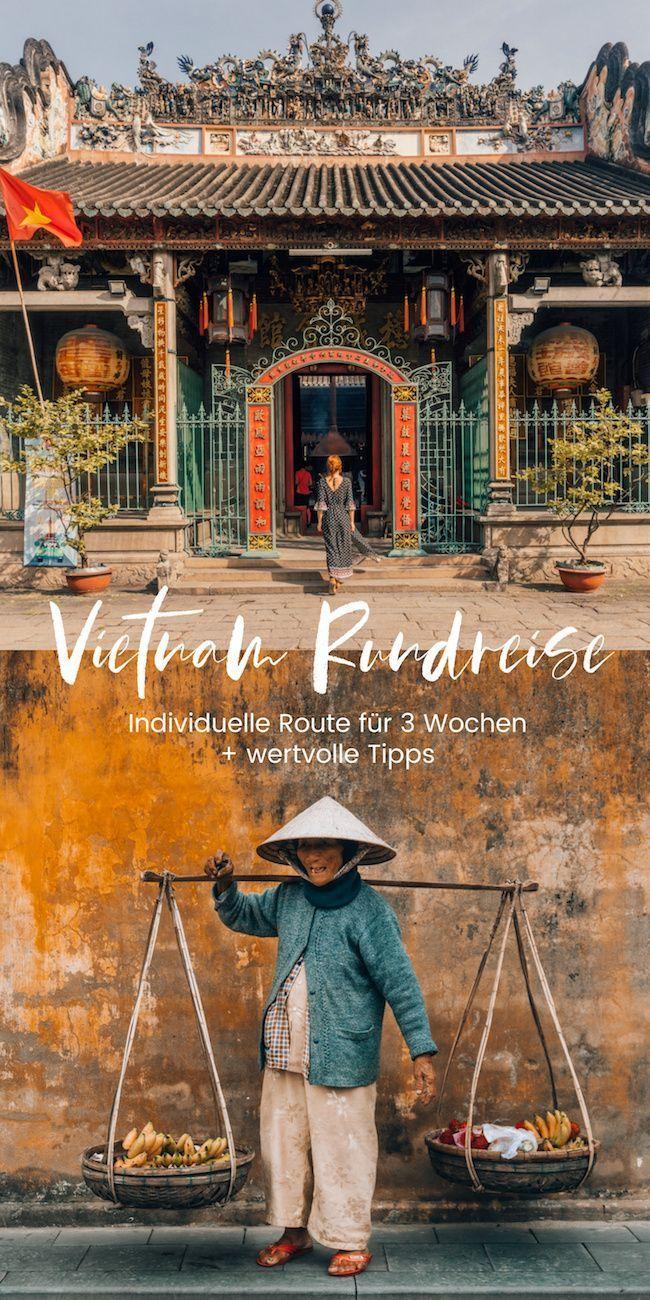Vietnam Rundreise: Individuelle Route für 3 Wochen + wertvolle Tipps