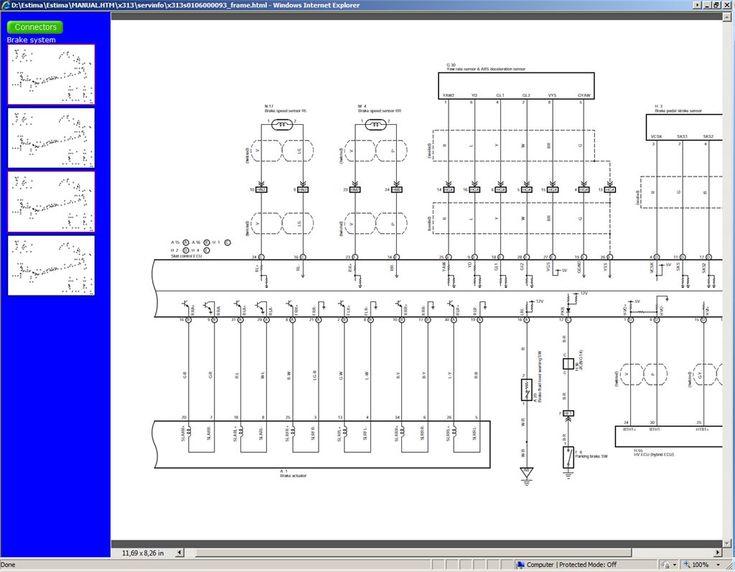 Toyota Estima Hybrid Wiring Diagram  3