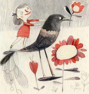 children's book illustrations | Isabelle Arsenault | 1