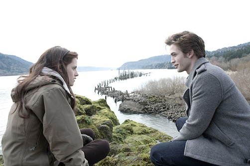 'Twilight': The Lost Script      BELLA: So did you do the chemistry homework?     EDWARD: Like, 100 years ago.     BELLA: No, seriously. Quit making jokes about our age difference. I have to do my homework before I go home and cook my dad his dinner.     EDWARD: You are a magnificent flower and the sweet cherry atop my life's sundae. Marry me and your life will be distilled bliss, for I do not eat food that requires cooking, and I am rich enough that your chemistry grade matters not a whit…