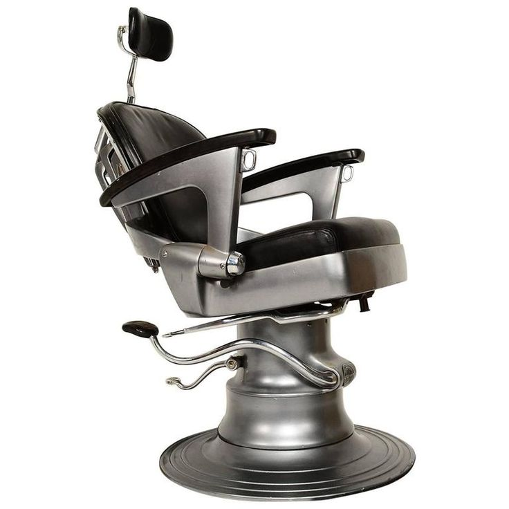 Ritter Art Deco Machine Age Barber Dentist Dental Chair