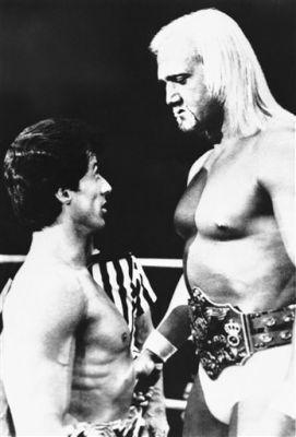 Before Hulk Hogan, right, became Vince McMahon's top